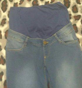 Новые джинсы для беременных, возможен торг