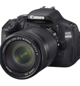 Canon EOS 600D Kit EF-S 18-135 mm IS