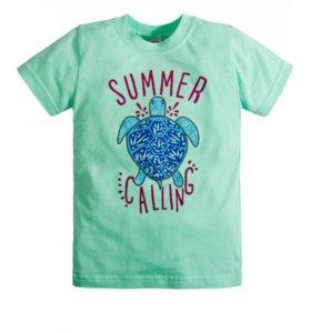 футболка для девочки Happy Kids