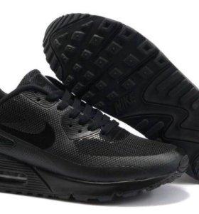 Мужские кроссовки найк эйр макс( черные)