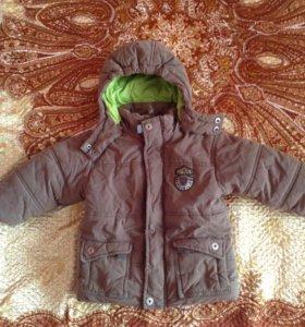 Зимняя верхняя одежда для мальчика