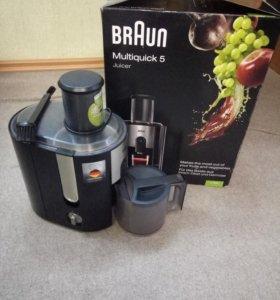 Соковыжималка Braun Multiquick 5