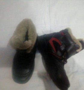 Ботинки зимние antilopa