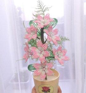Цветы 🌺 из бисера