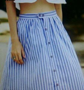 Новая юбка талия до 65 см