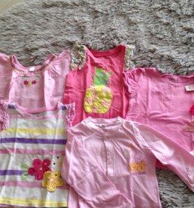 Пакет вещей для девочки от 1года