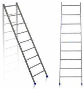Лестница приставная 9 ступеней (длина 2,2м). Л9