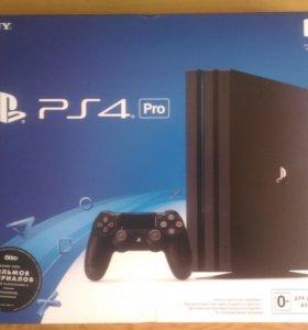 Sony Playstation 4 Pro + игры