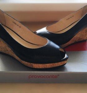 Туфли натуральная кожа provocante