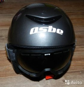 Горнолыжный шлем osbe, Маска spy+, Защитный жиле