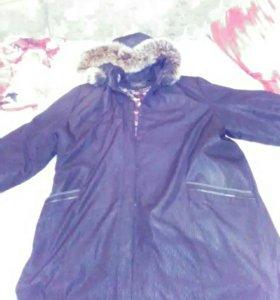 Куртка зимняя(возможен торг)