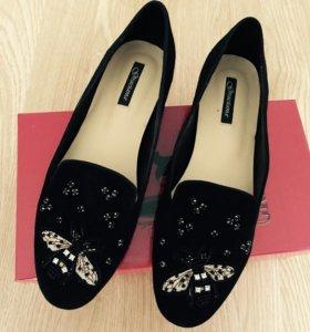 Туфли-лоферы (новые)