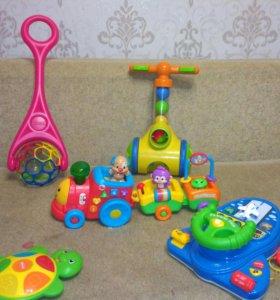Развивающие игрушки с 0 до 3