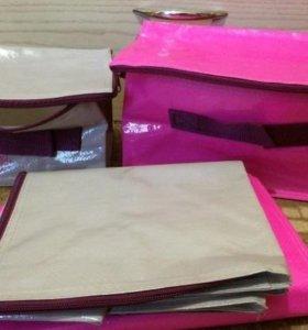 Набор из 3-х коффров (сумок) д/хранения вещей