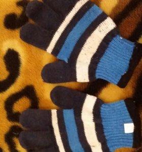 Перчатки датские для мальчика 1-2 года