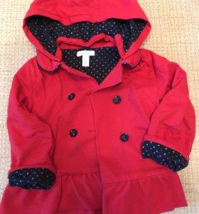 Куртка/полупальто детское на девочку