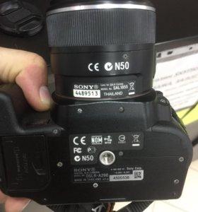 Фотоаппарат сони DSLR-A290