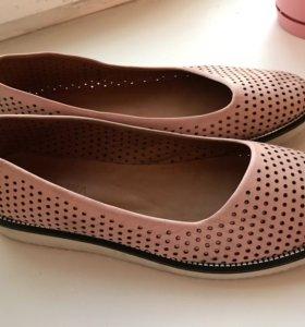 Tervolina туфли кожаные 40 размер