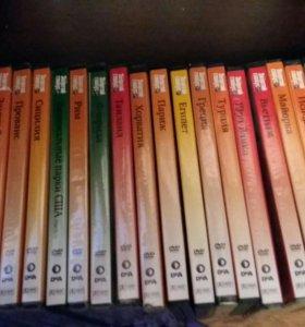 Коллекция Золотой глобус журналы с дисками