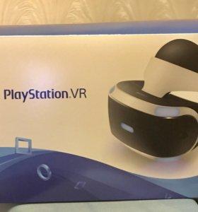 Очки VR для PS4 + джойстики Move + 2 игры