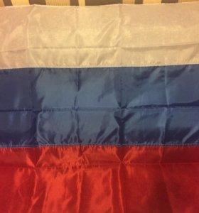Флаг РФ стандарт размер на флагшток
