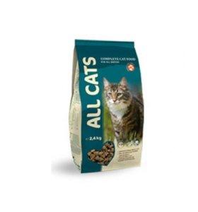 Корм для взрослых кошек All Cats 2,4кг