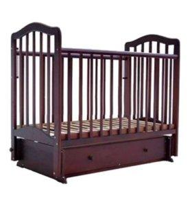 Кровать маятник детская б/у