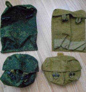 Подсумки под магазины АК , и гранаты от РД-54