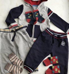 Спортивный костюм 6-9 месяцев