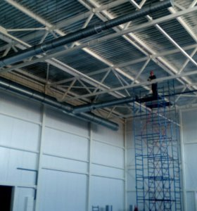 Монтаж и производство систем вентиляции