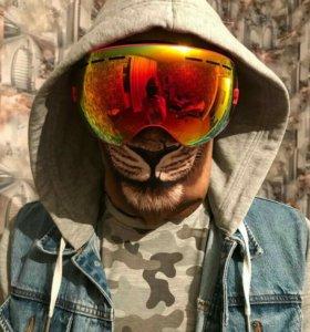 Горнолыжные очки(маска)