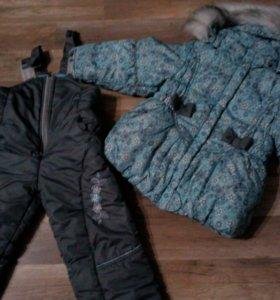 костюм зимний в хорошем состоянии