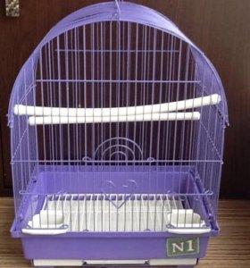 Клетки для птиц и грызунов разные