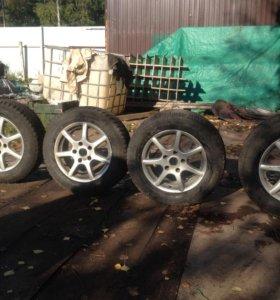 Комплект колёс. Для Бмв 3-серии е36 литые диски