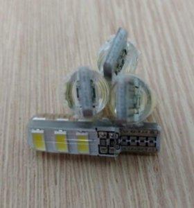 Светодиодные лампы в габариты белые