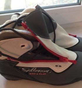 Ботинки для беговых лыж Salomon Siam 6 Pilot.