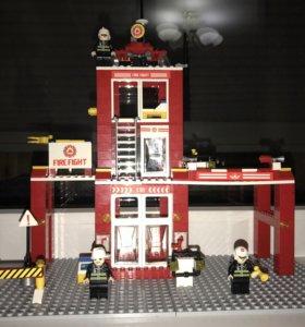 Продам конструктор Пожарная станция