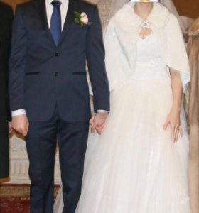Мужской костюм двойка Massimo Dutti.