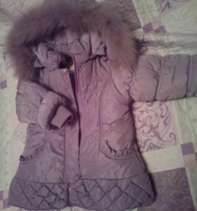 Куртка на девочку. Р-р 86