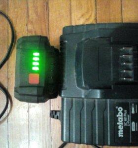 Зарядное устройство и аккумулятор для шуруповерта