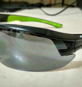 Merida очки +3 пары стекол+кейс.