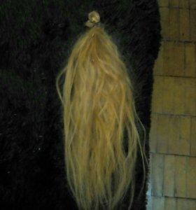 Волосы рыжии,55см