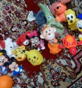 Игрушки-мультяшки дисней пакетом