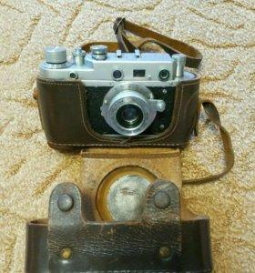Ретро фотоаппарат пленочный Зоркий