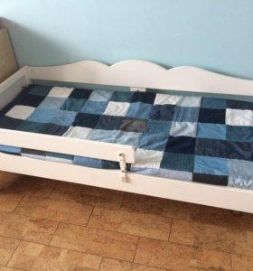Кроватка детская Икеа Хенсквик (в подарок комод)
