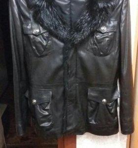 Куртка мужская кожанная Capitol