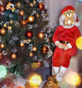Костюм Санта Клауса H&M 12-18мес