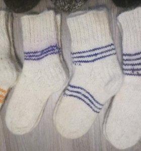 Шерстяные носки женские и подростковые