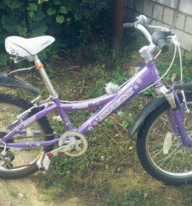 Скоростной велосипед для девочки