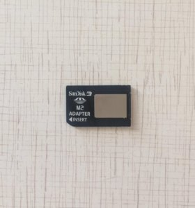 SanDisc Memory Stick Micro M2 Card Adapter